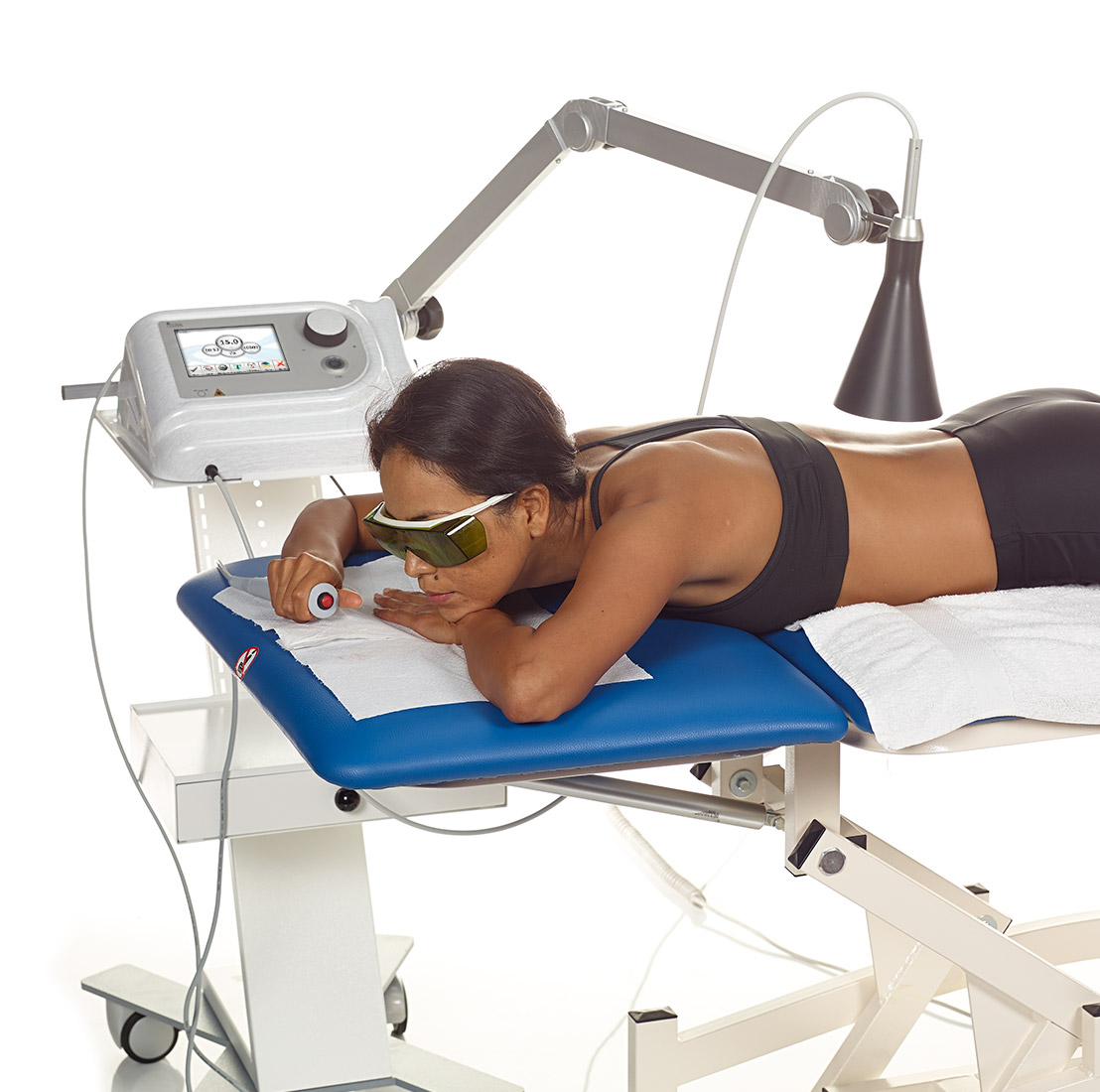 iLux RED Lasertherapie: ScanX mode