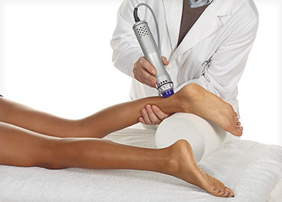 Shockwave Therapy: ANWENDUNG SWING MODE