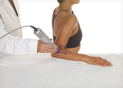 Shockwave Therapy: DYNAMISCHE ANWENDUNG