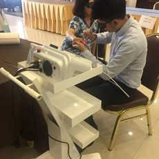 The Multimode HEL Lasertherapy protagonist in Thailand