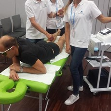 MultiMode HEL Lasertherapy at REHABILITACJA