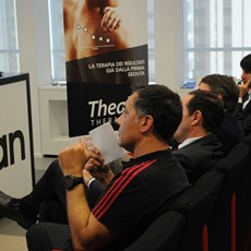 THEAL Therapy the therapy of champions for all presented at Casa Milan