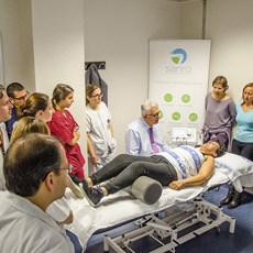 THEAL Therapy: Great success at the hospital 12th of October in Madrid