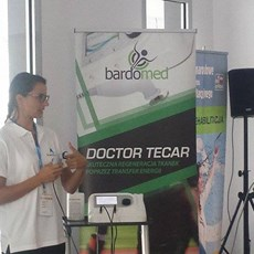Doctor Tecar Therapy at REHABILITACJA