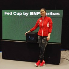 Mectronic Laser therapy at Fed Cup 2017