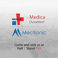 Mectronic invites you at MEDICA 2018