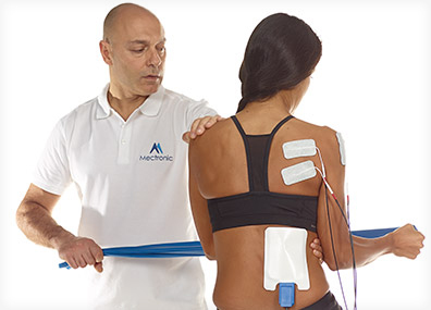 Tecar therapy: Automatic application with active movements