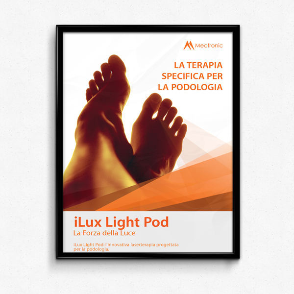 iLux Light Pod laser therapy: POSTER