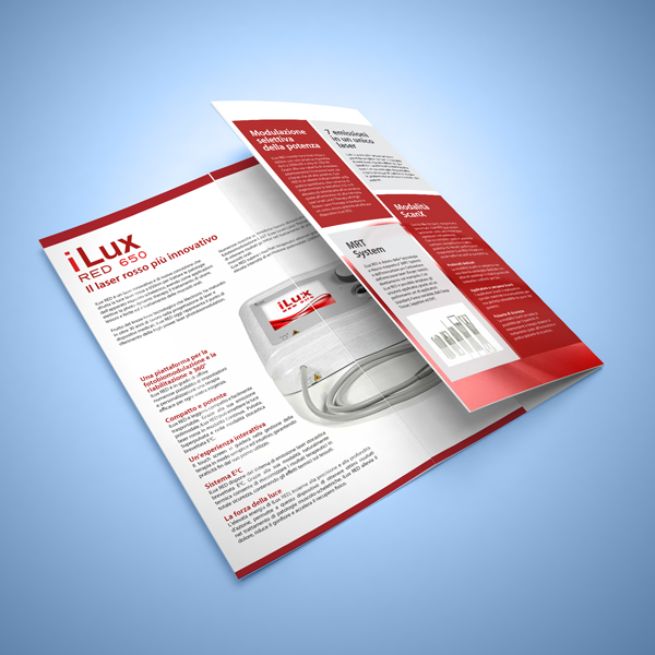 iLux RED laser therapy: BROCHURES