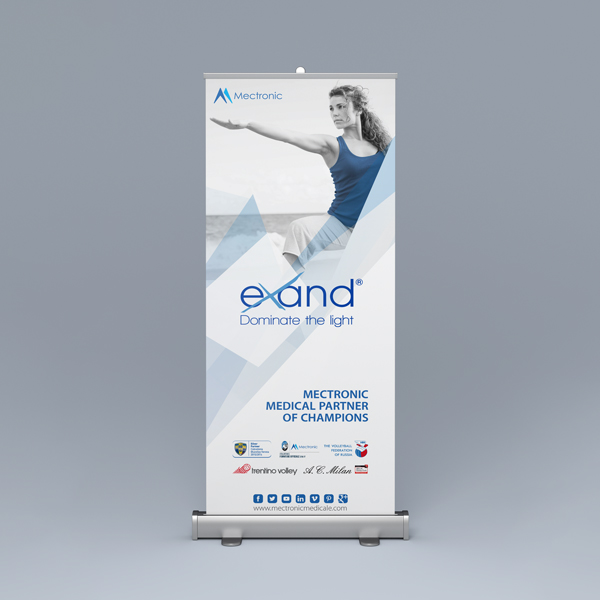 Exand laser: ROLL-UP