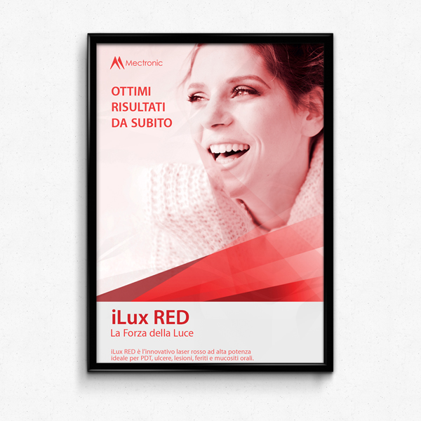 iLux RED laser therapy: POSTER