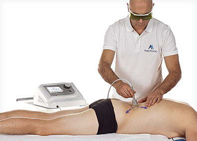 MultiMode HEL Lasertherapy: APLICACIÓN MANUAL DINÁMICA